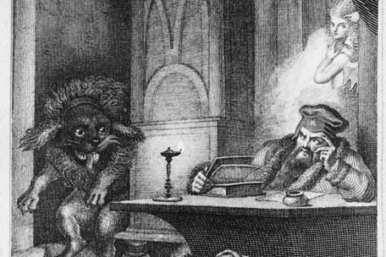Goethe Faust und der Pudel Ramberg