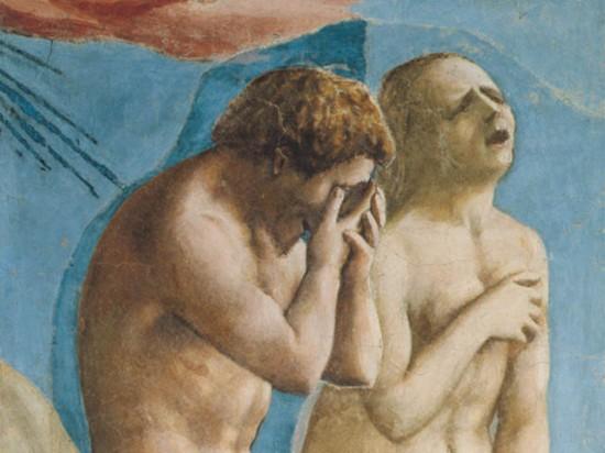 Masaccio expulsão do jardim do éden