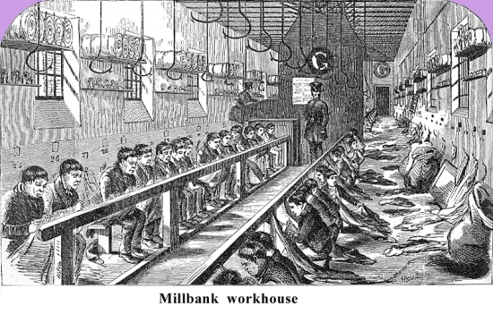 Millbank workhouse